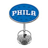NBA Chrome Pub Table - Fade  - Philadelphia 76ers