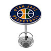 Utah Jazz NBA Chrome Pub Table