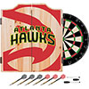NBA Dart Cabinet Set with Darts and Board - Fade  - Atlanta Hawks