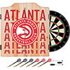 NBA Dart Cabinet Set with Darts and Board - City  - Atlanta Hawks