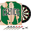 NBA Dart Cabinet Set with Darts and Board - Fade  - Boston Celtics