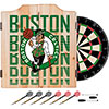 NBA Dart Cabinet Set with Darts and Board - City  - Boston Celtics