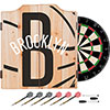 NBA Dart Cabinet Set with Darts and Board - Fade  - Brooklyn Nets