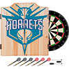 NBA Dart Cabinet Set with Darts and Board - Fade  - Charlotte Hornets