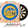 Denver Nuggets NBA Wood Dart Cabinet Set