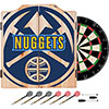 NBA Dart Cabinet Set with Darts and Board - Fade  - Denver Nuggets