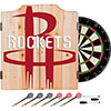 NBA Dart Cabinet Set with Darts and Board - Fade  - Houston Rockets