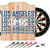 NBA Dart Cabinet Set with Darts and Board - City  - Los Angeles Clippers