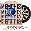 NBA Dart Cabinet Set with Darts and Board - City  - Memphis Grizzlies