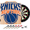 NBA Dart Cabinet Set with Darts and Board - Fade  - New York Knicks