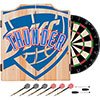 NBA Dart Cabinet Set with Darts and Board - Fade  - Oklahoma City Thunder