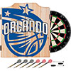 NBA Dart Cabinet Set with Darts and Board - Fade  - Orlando Magic