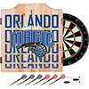 NBA Dart Cabinet Set with Darts and Board - City  - Orlando Magic