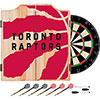 NBA Dart Cabinet Set with Darts and Board - Fade  - Toronto Raptors