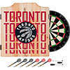 NBA Dart Cabinet Set with Darts and Board - City  - Toronto Raptors