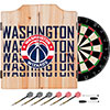 NBA Dart Cabinet Set with Darts and Board - City  - Washington Wizards