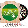 Boston Celtics Hardwood Classics NBA Wood Dart Cabinet Set