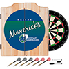 Dallas Mavericks Hardwood Classics NBA Wood Dart Cabinet
