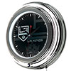 NHL Chrome Double Rung Neon Clock - Watermark - Los Angeles Kings�