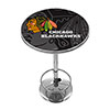 NHL Chrome Pub Table - Watermark - Chicago Blackhawks�