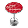 NHL Chrome Pub Table - Watermark - Detroit Redwings�