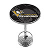 NHL Chrome Pub Table - Watermark - Pittsburgh Penguins�