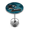 NHL Chrome Pub Table - Watermark - San Jose Sharks�
