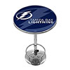 NHL Chrome Pub Table - Watermark - Tampa Bay Lightning�