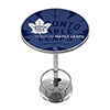 NHL Chrome Pub Table - Watermark - Toronto Maple Leafs�