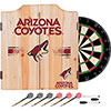 NHL Dart Cabinet Set with Darts and Board - Arizona Coyotes