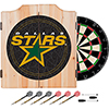 NHL Dart Cabinet Set with Darts and Board - Dallas Stars