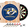 NHL Dart Cabinet Set with Darts and Board - Nashville Pedators