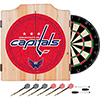 NHL Dart Cabinet Set with Darts and Board - Washington Capitals