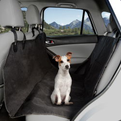 Pet Seat Cover Car Protector- Bench Hammock Backseat Liner, Quilted Waterproof All Weather Mat with Non-Slip Backing for Car/Truck/SUV by PETMAKER