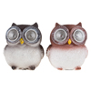 Yard D�cor, Solar Outdoor LED Light and Battery Operated Statue for Garden, Patio, Lawn, and Yard by Pure Garden ? Owl set of 2 Statue