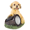 Yard D�cor, Solar Outdoor LED Light and Battery Operated Statue for Garden, Patio, Lawn, and Yard by Pure Garden ? Dog Statue