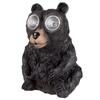 Yard D�cor, Solar Outdoor LED Light and Battery Operated Statue for Garden, Patio, Lawn, and Yard by Pure Garden ? Black Bear Statue