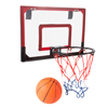 Mini Basketball Hoop with Ball and Breakaway Spring Rim for Over the Door Play - for Adults, Kids, Boys and Girls by Hey! Play!