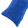 Body Pillow Cover, Soft Sherpa Pillowcase With Zipper, Fits Pillows Up To 51 Inches by Lavish Home (Blue)