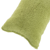 Body Pillow Cover, Soft Sherpa Pillowcase With Zipper, Fits Pillows Up To 51 Inches by Lavish Home (Sage)