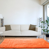 Lavish Home High Pile Shag Rug Peach 30x60