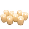 Flameless Candles, Battery Operated LED Bulb, 8-Piece Candle Set by Lavish Home ? For Votive Holders ? Home, Wedding, Bridal Shower, Christmas Decor