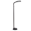 Natural Full Spectrum Sunlight Reading and Crafting Floor Lamp by Lavish Home (Black) - Adjustable Gooseneck