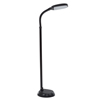 LED Natural Full Spectrum Sunlight Reading and Crafting Floor Lamp with Dimmer Switch by Lavish Home - Adjustable Gooseneck