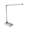 Lavish Home LED Contemporary Desk Lamp - Energy Saving - Silver