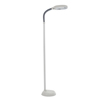 Natural Full Spectrum Sunlight Reading and Crafting Floor Lamp by Lavish Home (Beige, 6 Feet) - Adjustable Gooseneck