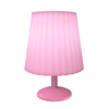 Touch Sensor Lamp- Dimmable, Battery Operated LED Light with Stepless Dimmer- Bedside, Desk Light or Nursery/Kids Night Light by Lavish Home (Pink)
