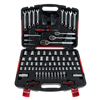 Mechanic?s Tool Set- 135 Piece by Stalwart, Hand Tool Set Includes ?  Screwdriver, Wrench, and Ratchet Set (Great for the Home, Garage, or Car)