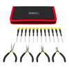 Stalwart 16 Piece Precision Jewelers Tool Set with C