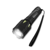 Handheld Aluminum LED Flashlight- 200 Lumen Water Resistant Light with 3 Settings  By Stalwart (Green) (For Camping Hiking Emergency)
